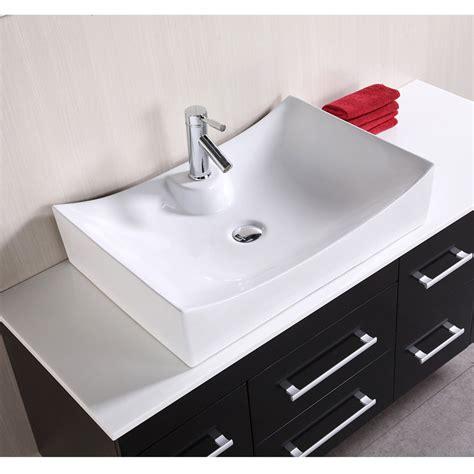 large single sink vanity spencer 53 quot single sink vanity set zuri furniture