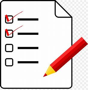 Checklist Clipart Procedure  Checklist Procedure