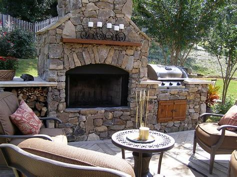 Bbq And Fireplace - 21 best images about outdoor place bbq combo on