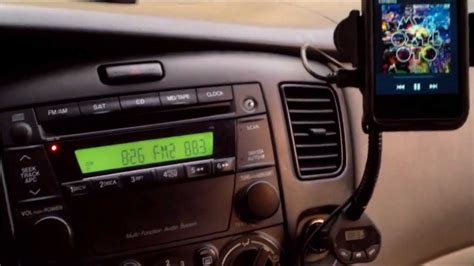 HOW TO CONNECT PHONE TO CAR RADIO the WIRELESS WAY - YouTube