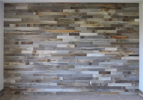 Reclaimed Wood Wall Paneling Diy Asst 3inch Boards By. Pendulum Lights. Indoor Flower Pots. Large Rustic Chandeliers. Thompson Builders. Grey Tv Stand. Black And White Striped Accent Chair. Waste Baskets. Low Profile Bed