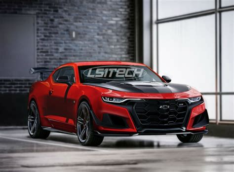 lstech exclusive imagining refreshed camaro zl