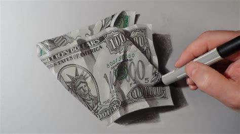 draw dollar  million dollars bill youtube