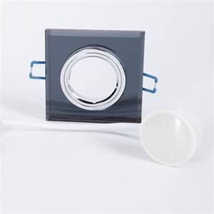 Led Einbaustrahler Glas : led einbaustrahler mit schwarzem glas switchmo 4fach dimmbar wohnlicht ~ Eleganceandgraceweddings.com Haus und Dekorationen