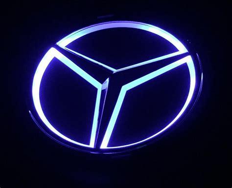 See more ideas about mercedes benz logo, mercedes benz, mercedes. Blue UNIVERSALReplica LED Illuminated Star Emblem For Mercedes Benz A B C E M R   eBay