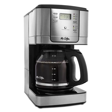 You can enjoy delicious cold brew in any season. Shop Mr. Coffee JWX9-RB Advanced Brew 5-cup Programmable Coffee Maker with Stainless Carafe ...