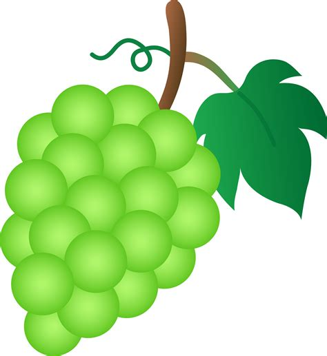 Grapes Clipart - Clipart Bay