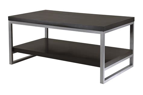 Winsome Jared Coffee Table, Enamel Steel Tube by OJ Commerce 93440A   $159.99