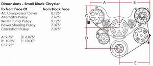 Dodge Mopar Tru Trac Chrysler Serpentine Front Engine Kit