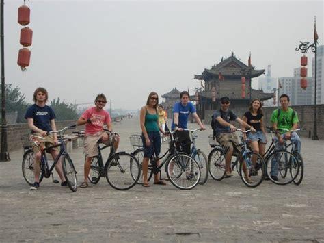 xian city wall photo