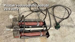 Bezvýkopová oprava vodovodního potrubí