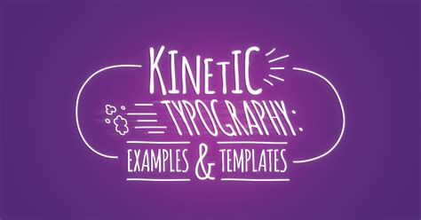kinetic typography exles templates biteable