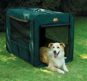 midwest canine camper 1748cc2 two door portable tent crate With pop up dog kennel extra large