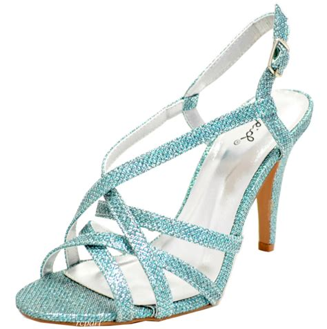 light blue strappy heels light blue shoes open toe evening stilettos blue strappy