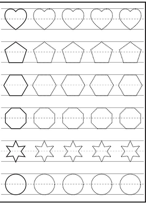 traceable worksheets   printable