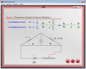 Derivation Of Formulas In The Experiment Of Wheatstone