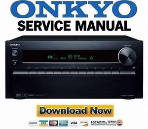 Onkyo Tx-nr818 Service Manual And Repair Guide