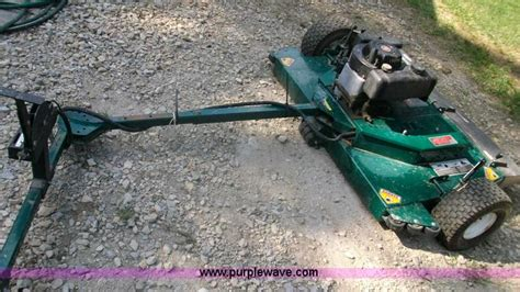 swisher pull mower no reserve auction on wednesday august 07 2013