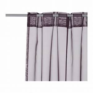 Ikea Sy Saumband Zum Aufbügeln : ikea 2 gardinenschals gardinenschal vorhang schlaufenschal gardine lila 145x300 ebay ~ Orissabook.com Haus und Dekorationen