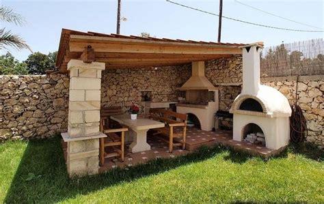 photo cuisine exterieure jardin cuisine d ete exterieure en 4 en