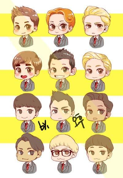 74 best about exo chibi on wolves chibi and planets