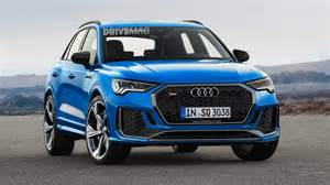 2020 Audi Q3 Usa by We Imagine The Upcoming 2020 Audi Rs Q3 Performance Suv