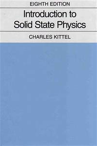 U300a U56fa U4f53 U7269 U7406 U5bfc U8bba U300b Introduction To Solid State Physics   U626b U63cf U7248 Pdf