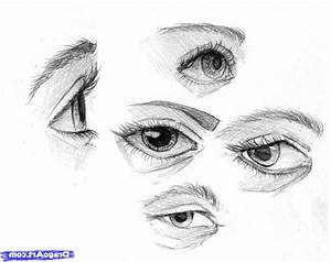 Simple Eye Sketch How To Draw An Eye In Pencil Step Step ...