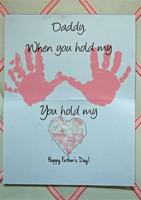 s day handprint card ideas 40 diy s day card ideas and tutorials for