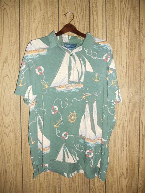 vintage vtg  polo ralph lauren shirt xxl mens cotton