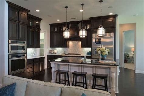 toll brothers model home  canyon falls kitchen