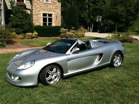 Sell New Silver Porsche Carrera Gt Replica! Very Nice And