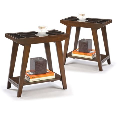 chair side tables living room the furniture cove chair side tables in an espresso