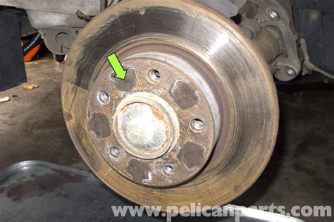 Bmw Z3 Brake Rotor Replacement  19962002  Pelican Parts