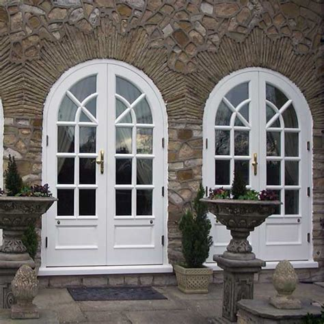 arched doors exterior home design