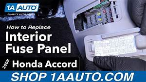 Fuse Box 2008 Accord