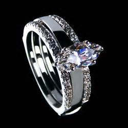 synthetic engagement rings luxurious jewelry 2ct nscd synthetic marquise cut engagement rings for eye