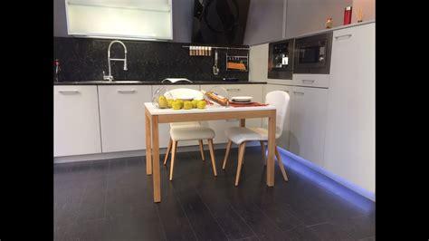 mesa cocina extensible nordica  en  youtube