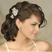 Hairstyles For Weddings Pictures by Short Hairstyles For Weddings Hairstyle