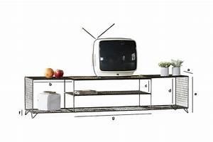 Grand Meuble Tv : grand meuble tv ontario robuste et bien fini pib ~ Teatrodelosmanantiales.com Idées de Décoration