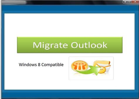 Migrate Outlook Main Window - Migrate Outlook Software ...