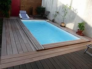 Piscine Semi Enterré Bois : piscine bois rectangulaire piscines bois enterr es et ~ Premium-room.com Idées de Décoration