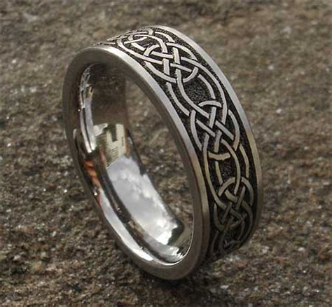 celtic knot titanium ring for in the uk