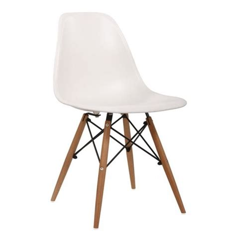 chaises cdiscount chaise design dsw blanche achat vente chaise blanc