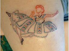 Princesse Disney Avec Tatouage Tattoo Art