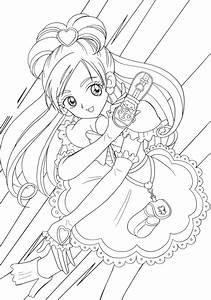 Ausmalbilder Anime Ausmalbilder