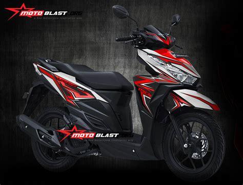 Modif Vario 150 Esp by Modifikasi Motor Matic Terbaru Striping Honda Vario 150