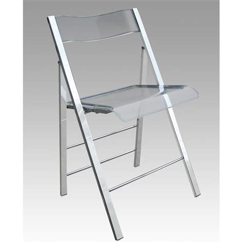 set of 2 lucite folding chairs available in clear green