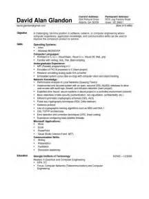 resume for ece ece sle resume