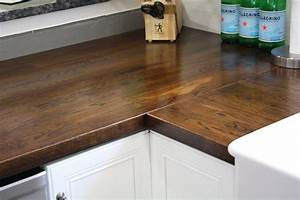 Stillwater Story: How to Stain Butcher Block Countertops